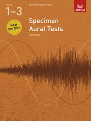 ABRSM Specimen Aural Tests (from 2011) - Grades 1-3