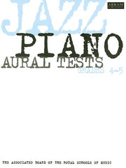 ABRSM Jazz Piano Aural Tests - Grades 4-5