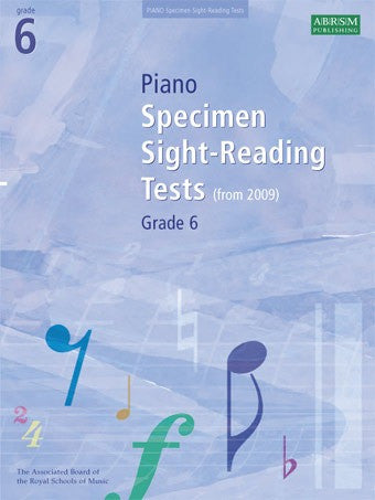 ABRSM Grade 6 Piano Sight-Reading Specimen Tests (from 2009)