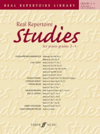 Real Repertoire Studies - grades 2-4 - Piano