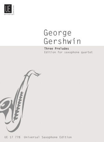 George Gershwin: Three Preludes (Saxophone Quartet)