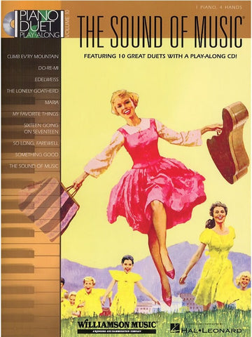 Piano Duet Play-Along Volume 10: The Sound Of Music (with CD)