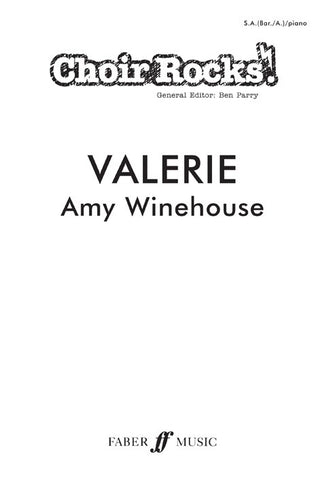 Choir Rocks! Amy Winehouse: Valerie - SA (with Optional Baritone/Alto) + Piano