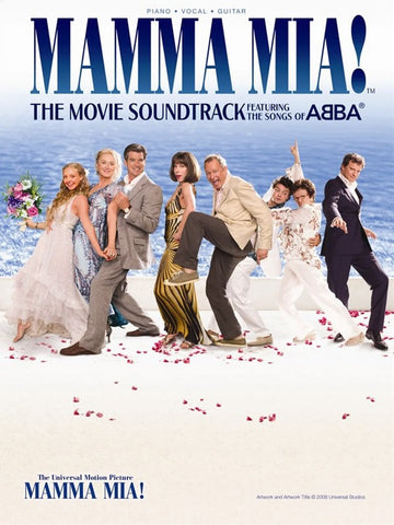 Mamma Mia! The Movie Soundtrack - Featuring the Songs of Abba - Piano, Vocal + Guitar