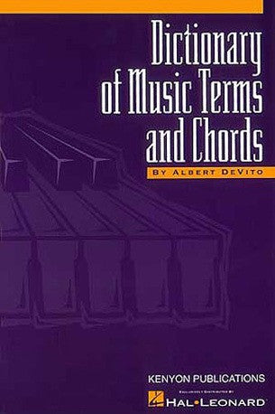 DeVito: Dictionary of Music Terms and Chords