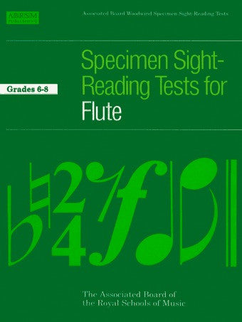 ABRSM Specimen Sight-Reading Tests for Flute - Grades 6-8