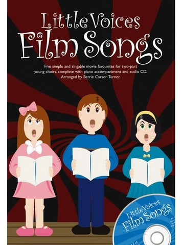 Little Voices: Film Songs - SS + Piano (with CD)