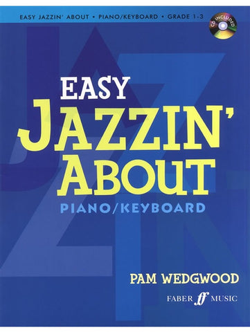 Easy Jazzin' About - Piano/Keyboard (with CD)