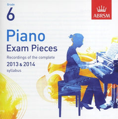 ABRSM Piano Exam Pieces 2013-2014 - Grade 6 - CD Only