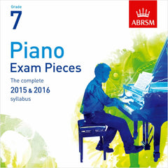 ABRSM Piano Exam Pieces 2015-2016 - Grade 7 - CD Only