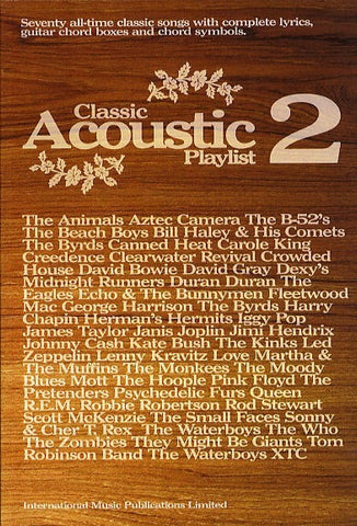 Classic Acoustic Playlist 2 - Chord Songbook