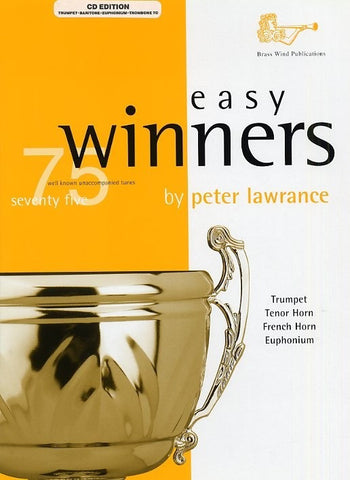 Easy Winners - Trumpet (Bb)/Baritone (Bb)/Euphonium (Bb)/Trombone + CD