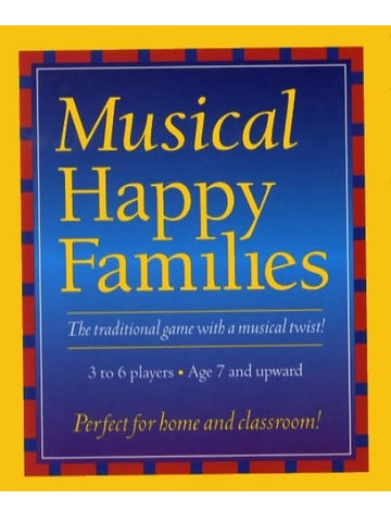 Music Games: Quartet - Musical Happy Families