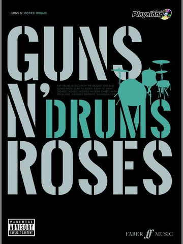Authentic Playalong: Guns N' Roses - Drums (with CD)