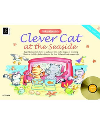 Clever Cat At The Seaside (Piano + CD)