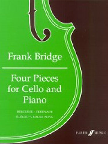 F. Bridge: Four Pieces for Cello and Piano