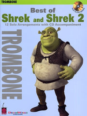 Best Of Shrek And Shrek 2 - Instrumental Solos (Trombone + CD)