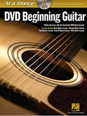 At a Glance: DVD Beginning Guitar - Book + DVD
