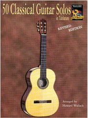 50 Classical Guitar Solos in Tablature - Guitar Tab