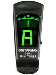 Guitar Man Tuner - GM11 Clip On Guitar/Bass Guitar Tuner