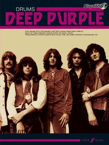 Authentic Playalong: Deep Purple - Drums (with CD)