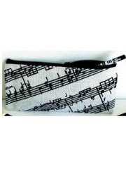 Pencil Case - Jute - Sheet Music Design