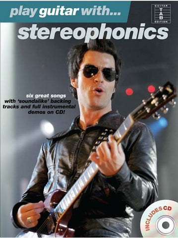 Play Guitar with... Stereophonics - Guitar Tab (with CD)