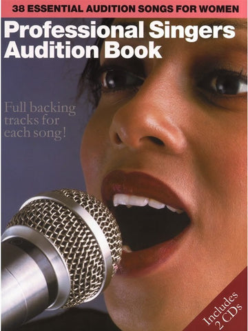 Professional Singers Audition Book - Piano, Vocal + Guitar (with CD)