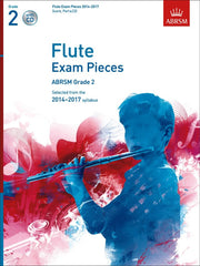 ABRSM Flute Exam Pieces 2014-2017 - Grade 2 - Flute + Piano (with CD)