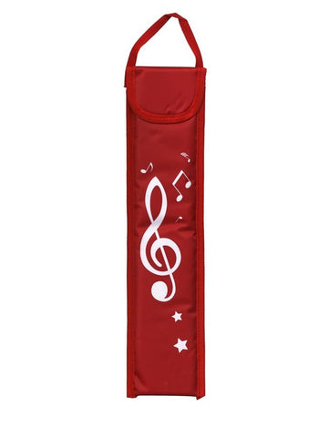Musicwear: Recorder Bag - Red