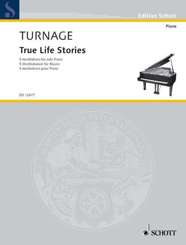 Mark-Anthony Turnage: True Life Stories (Piano)