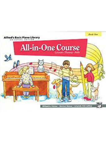 Alfred's All-in-One Course Level 1