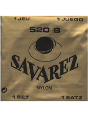 Savarez 520B Traditional Classical Guitar Strings - White (Low Tension) - Set