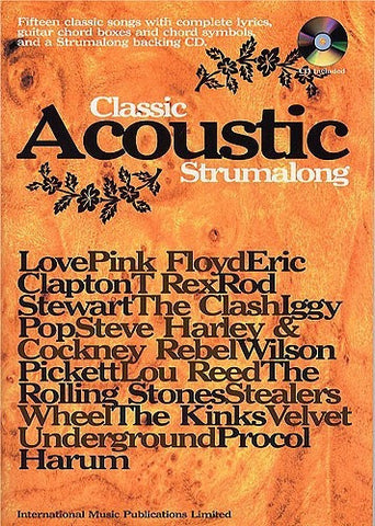 Classic Acoustic Strumalong - Chord Songbook (with CD)