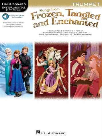 Hal Leonard Instrumental Play-Along: Songs from Frozen, Tangled + Enchanted - Trumpet (Online Audio)