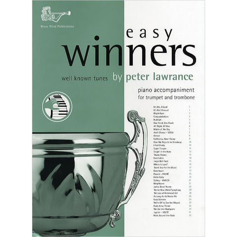 Easy Winners - Easy Piano Accompaniment for Trumpet + Trombone