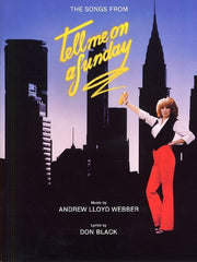 Andrew Lloyd Webber: Tell Me On A Sunday - Vocal Selections (PVG)