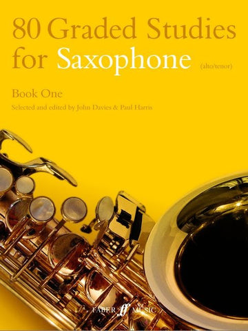 80 Graded Studies for Saxophone - Book 1 - Alto/Tenor Saxophone