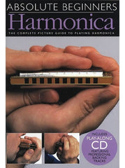 Absolute Beginners: Harmonica (with Instrument + CD)