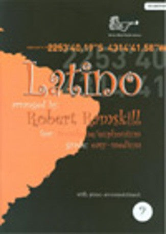 Latino (Trombone or Euphonium BC/Piano + CD)
