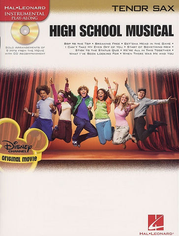 High School Musical - Selections (Tenor Saxophone + CD)