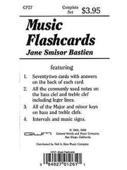 J.S. Bastien: Music Flash Cards