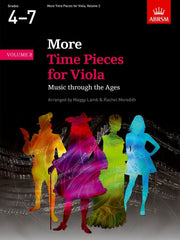 More Time Pieces for Viola - Book 2 (Grades 4-7)