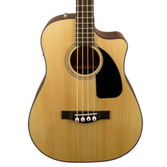 Fender CB-100CE Acoustic Bass Guitar in Natural