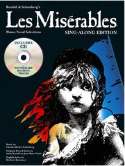 Les Miserables - Sing-Along Edition - Piano, Vocal + Guitar (with CD)