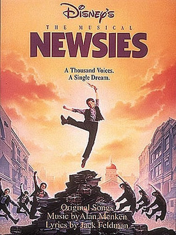 Disney's Newsies The Musical - Piano, Vocal + Guitar