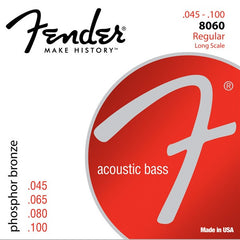 Fender Acoustic Bass Phosphor Bronze Strings (Long Scale 34'', .45-.95)