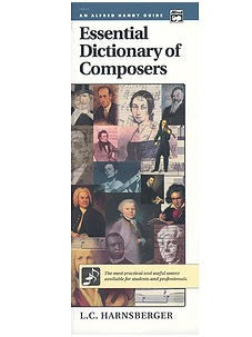 Essential Dictionary of Composers