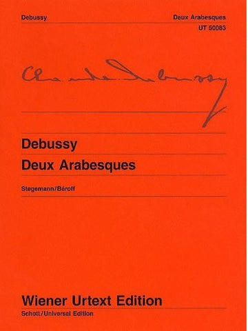 C. Debussy: Two Arabesques (Urtext Edition) - Piano