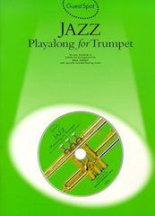 Guest Spot: Jazz Playalong For Trumpet (with CD)